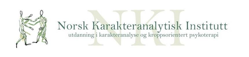 Header med NKI logo