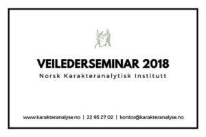 Veilderseminar 2018