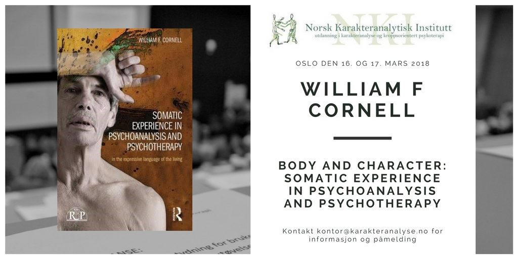 Seminar - Body and Character: Somatic Experience in Psychoanalysis and Psychotherapy