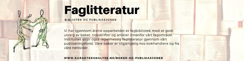 NKI banner - Bibliotek og publikasjoner