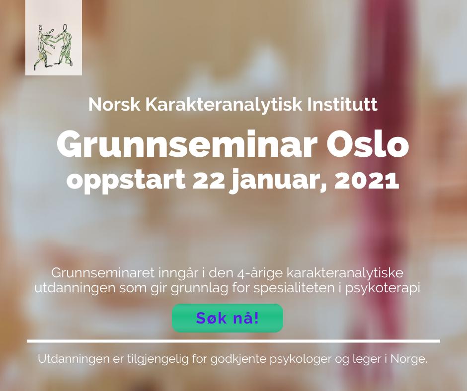 Oppstart neste grunnseminar i Oslo