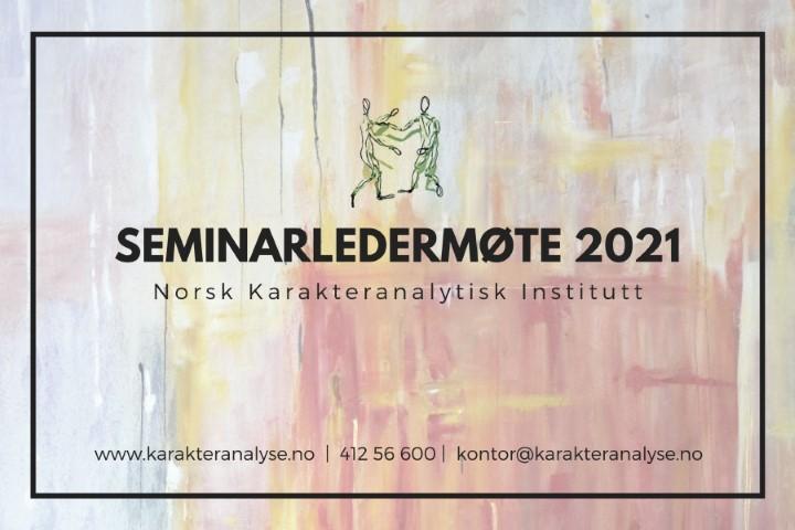 Seminarledermøte 2021
